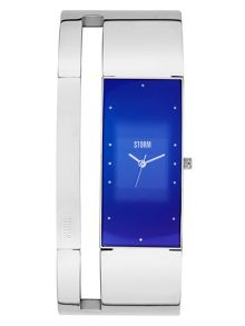Storm Alvara lazer blue watch