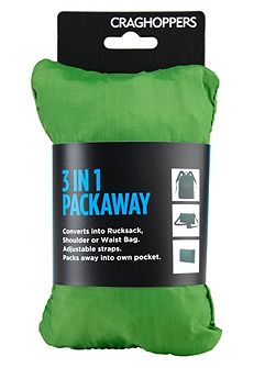 Prolite 3 in 1 Packaway Rucksack