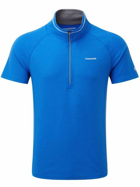 Craghoppers NosiLife Felix Short Sleeved Zip Shirt