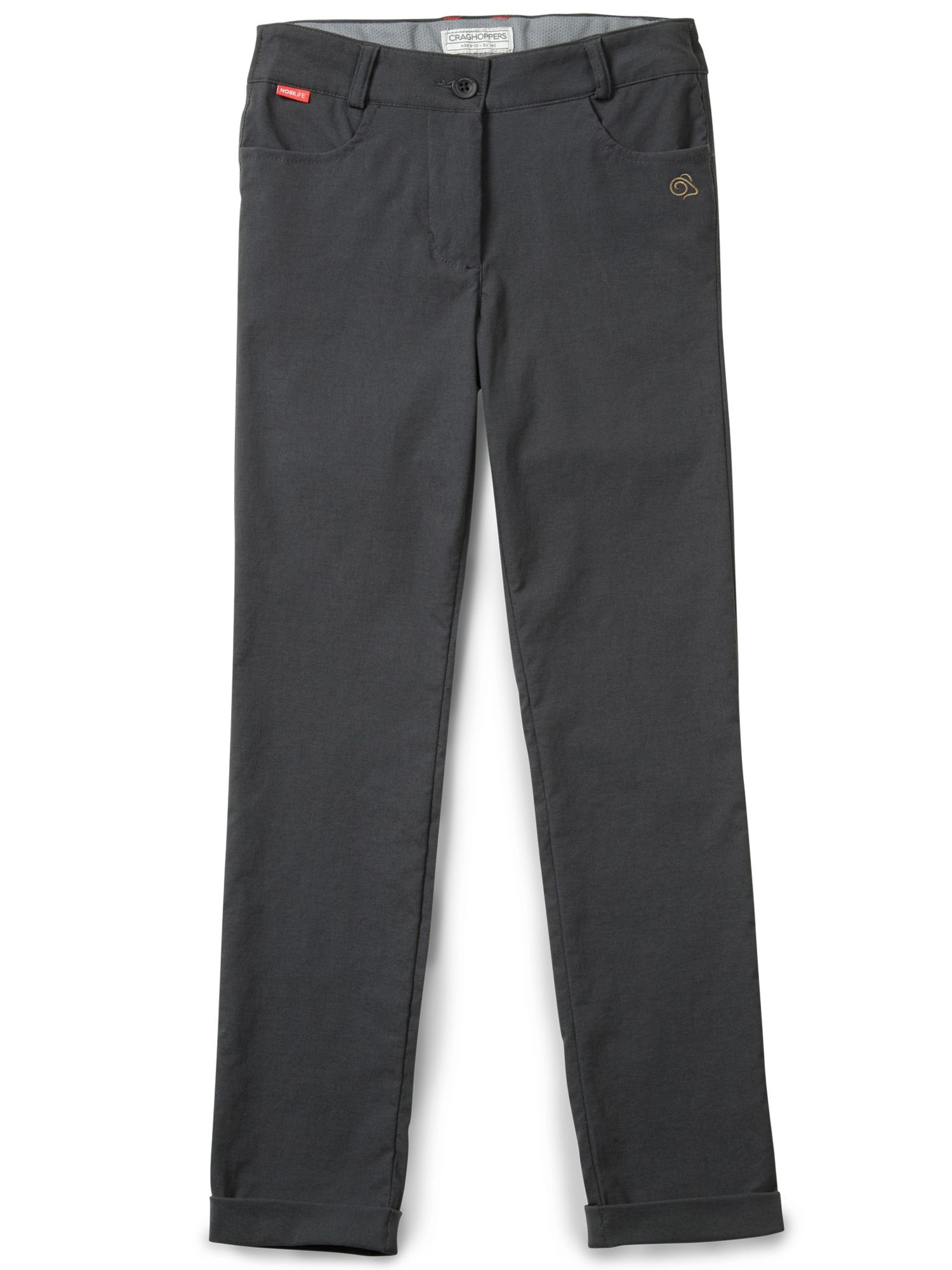 Photo of Craghoppers kids nosilife callie trouser- black