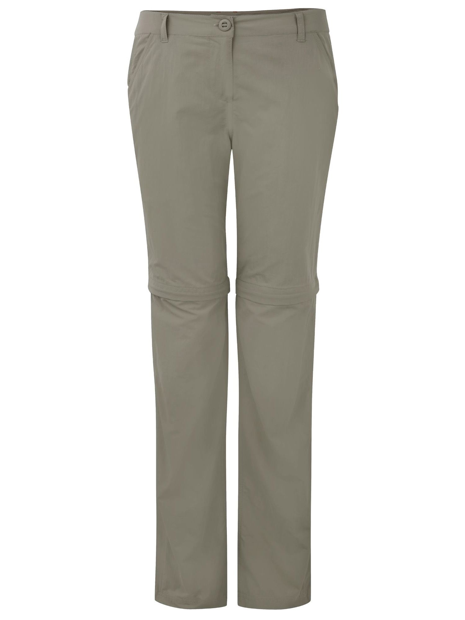 Craghoppers NosiLife Convertible Walking Trousers, Mushroom