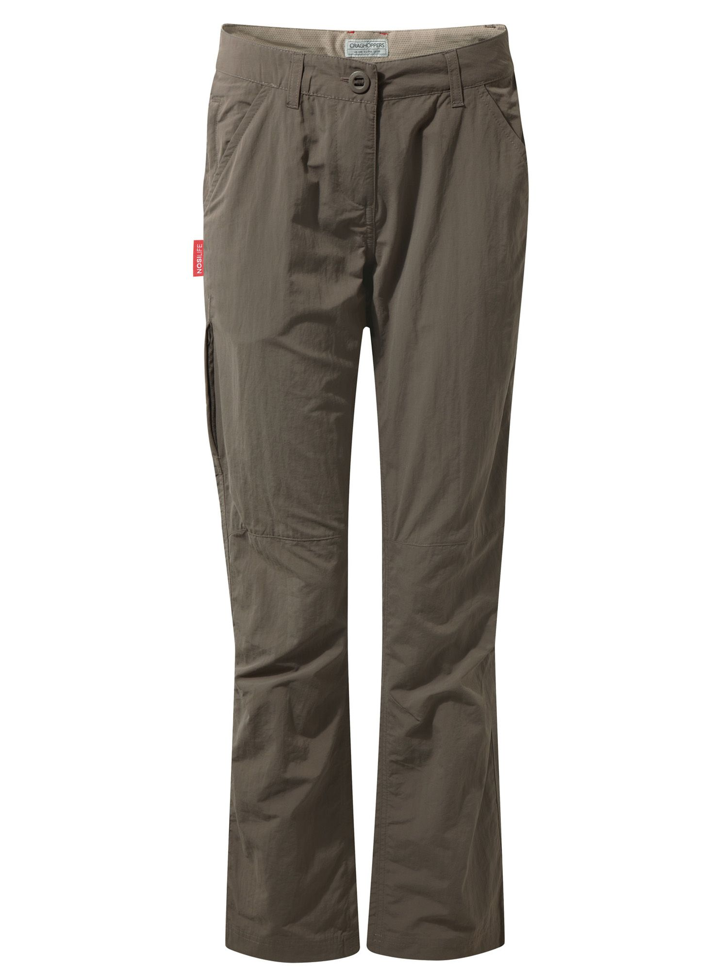 Craghoppers NosiLife Lightweight Trousers, Brown