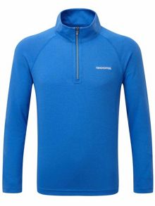 Craghoppers Kids NosiLife Ace Long Sleeved Zip Neck