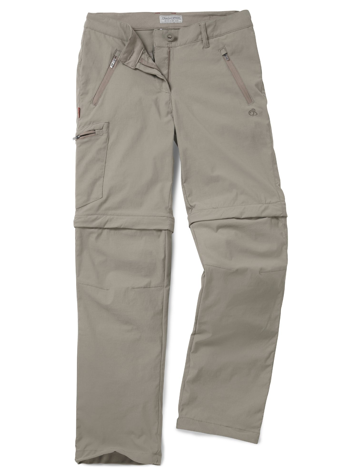 Craghoppers Craghoppers NosiLife Pro Convertible Trousers, Mushroom