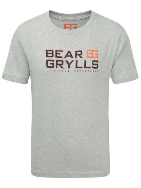 Craghoppers Bear Grylls Printed T-Shirt