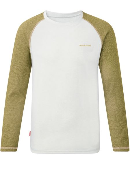 Craghoppers Kids NosiLife Barnaby Long-Sleeve T-shirt