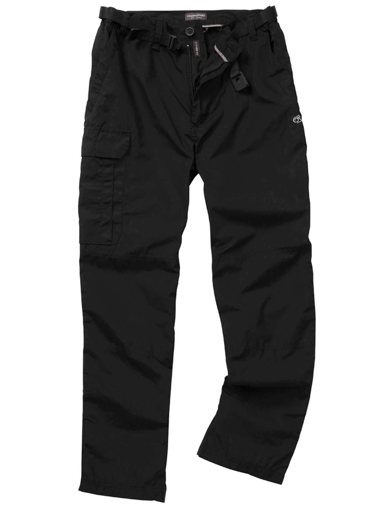Men 39 s craghoppers classic kiwi trousers black octer for Quality classic house of fraser