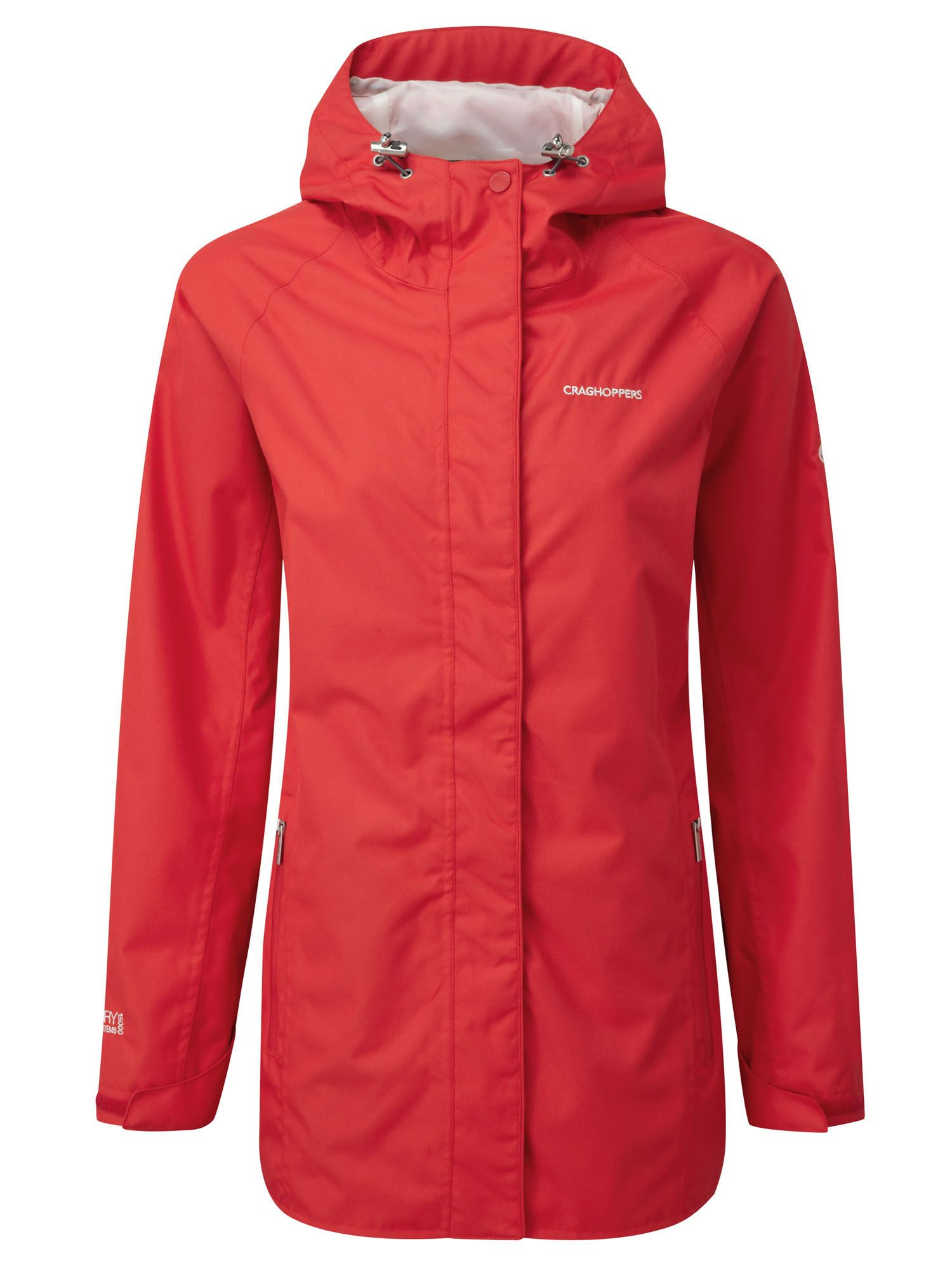 Craghoppers Madigan Classic Waterproof Jacket, Red