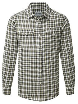 Kiwi Long Sleeved Checked Shirt