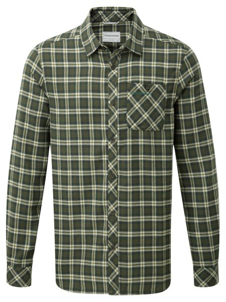 Craghoppers Brigden Check Long Sleeved Shirt