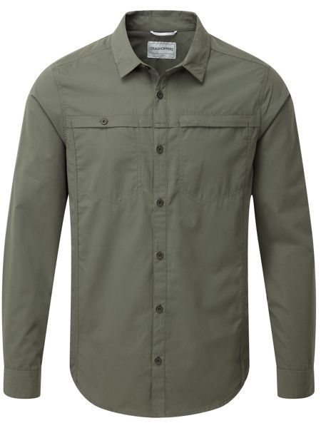 Craghoppers Kiwi Trek Long Sleeved Shirt