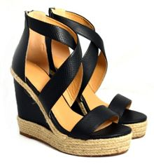 Sam and Billie for Carlton London Kylie wedge sandals