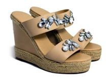 Sam and Billie for Carlton London Kailani wedge sandals