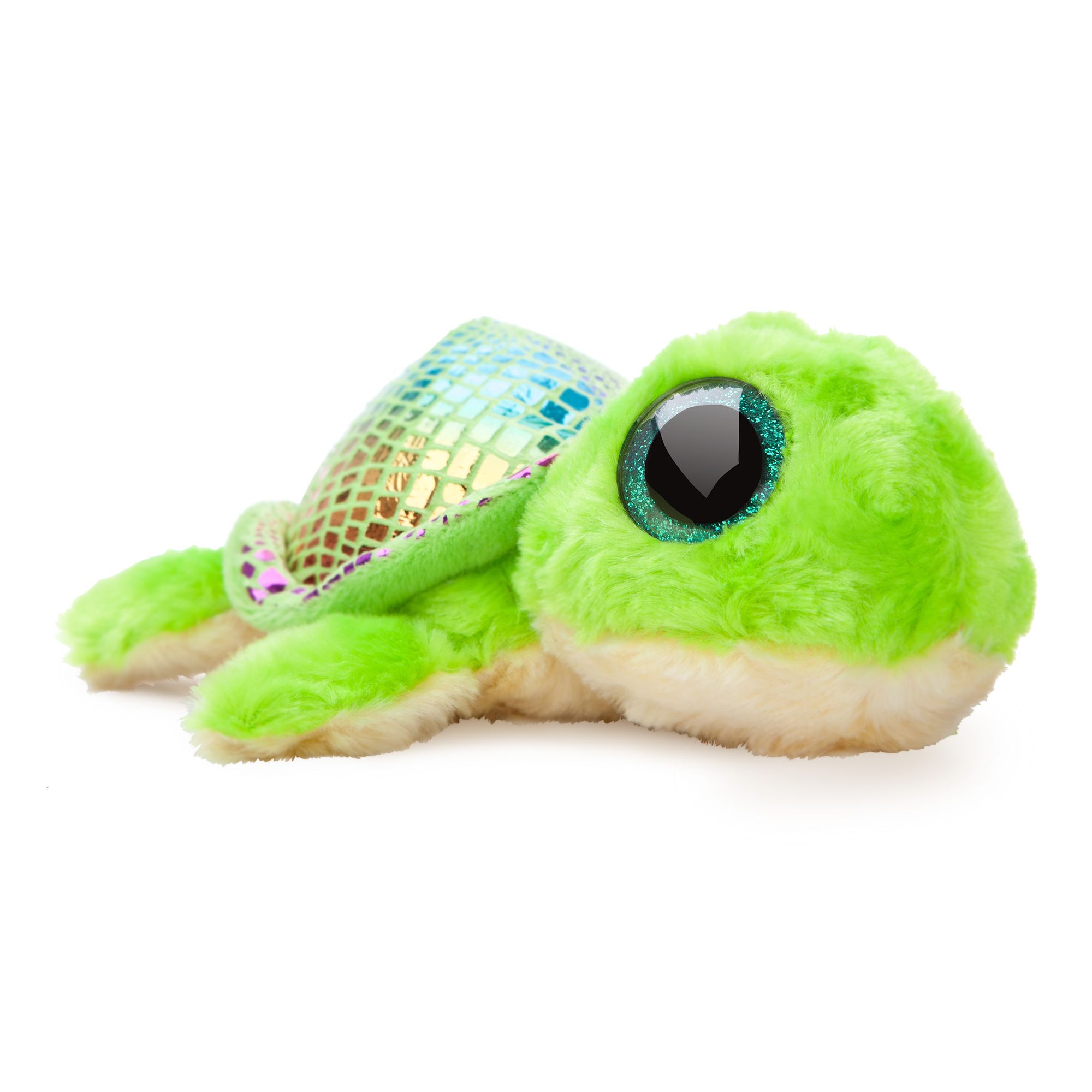 Image of YooHoo & Friends 8-Inch Flippee Green Turtle, Green