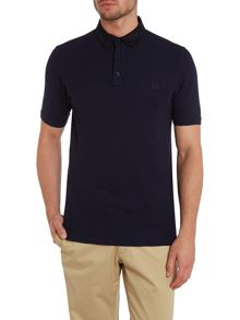 Royal oxford pique short sleeve polo