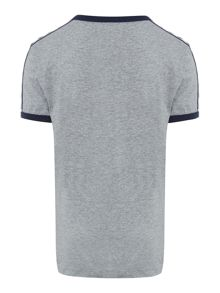 Fred Perry Boys Short Sleeved Taped Shoulder Tshirt