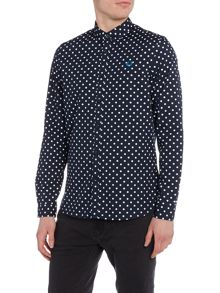 Fred Perry Polka dot print shirt