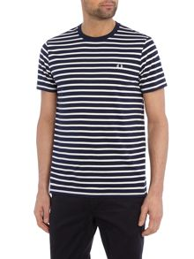 Fred Perry Breton Stripe Crew Neck T-Shirt