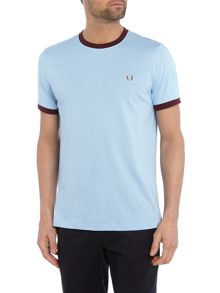 Fred Perry Plain Crew Neck Regular Fit Sports T-Shirt