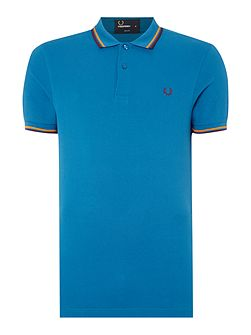 Men's Fred Perry Twin Tipped Slim Fit Polo