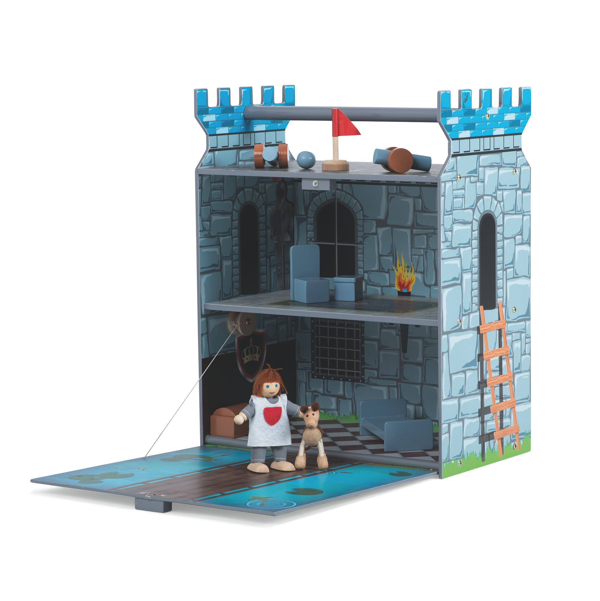 Image of Plum Fortress Wooden Play set