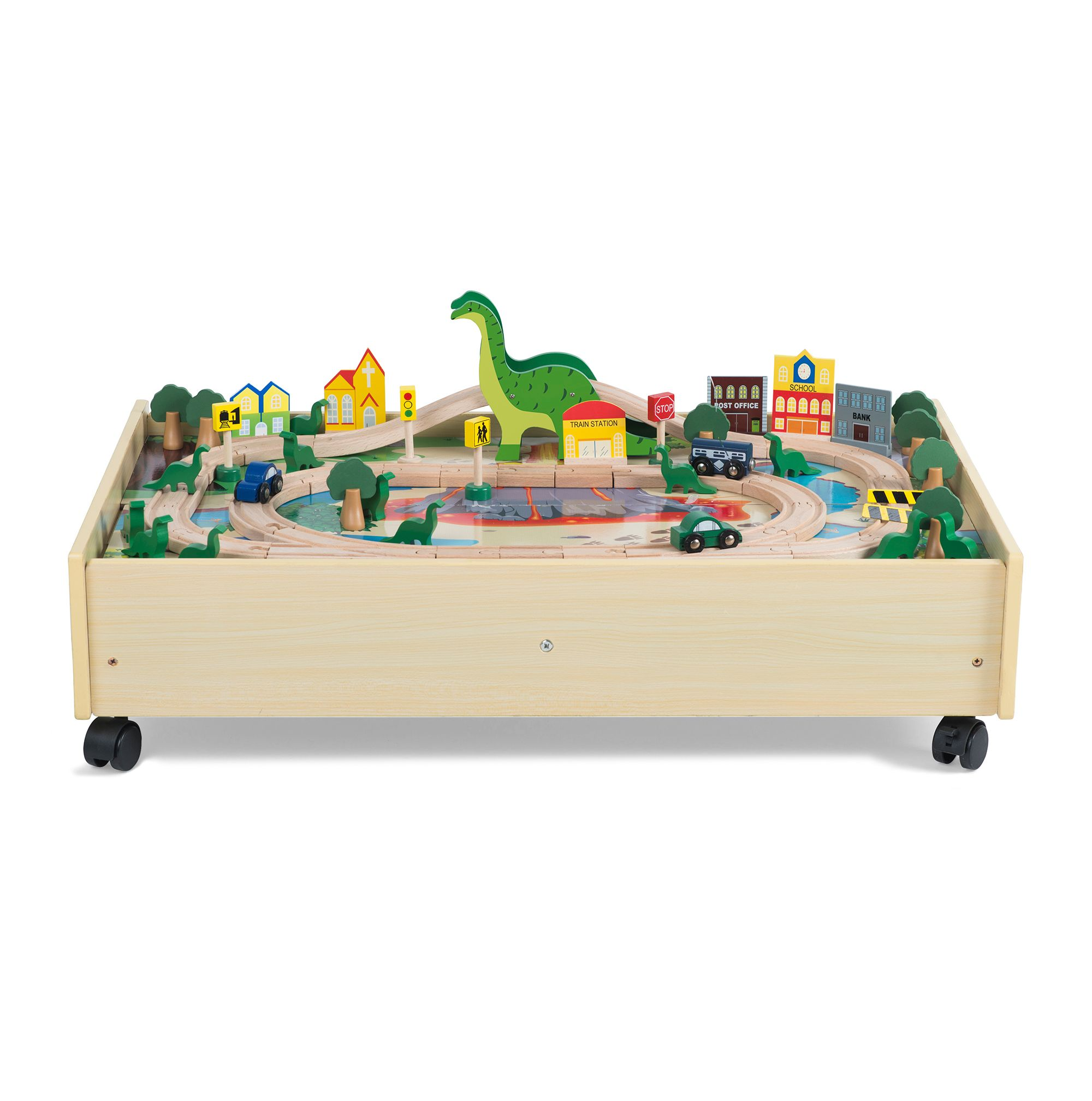 Image of Plum Roar-a-Saur Wooden Play