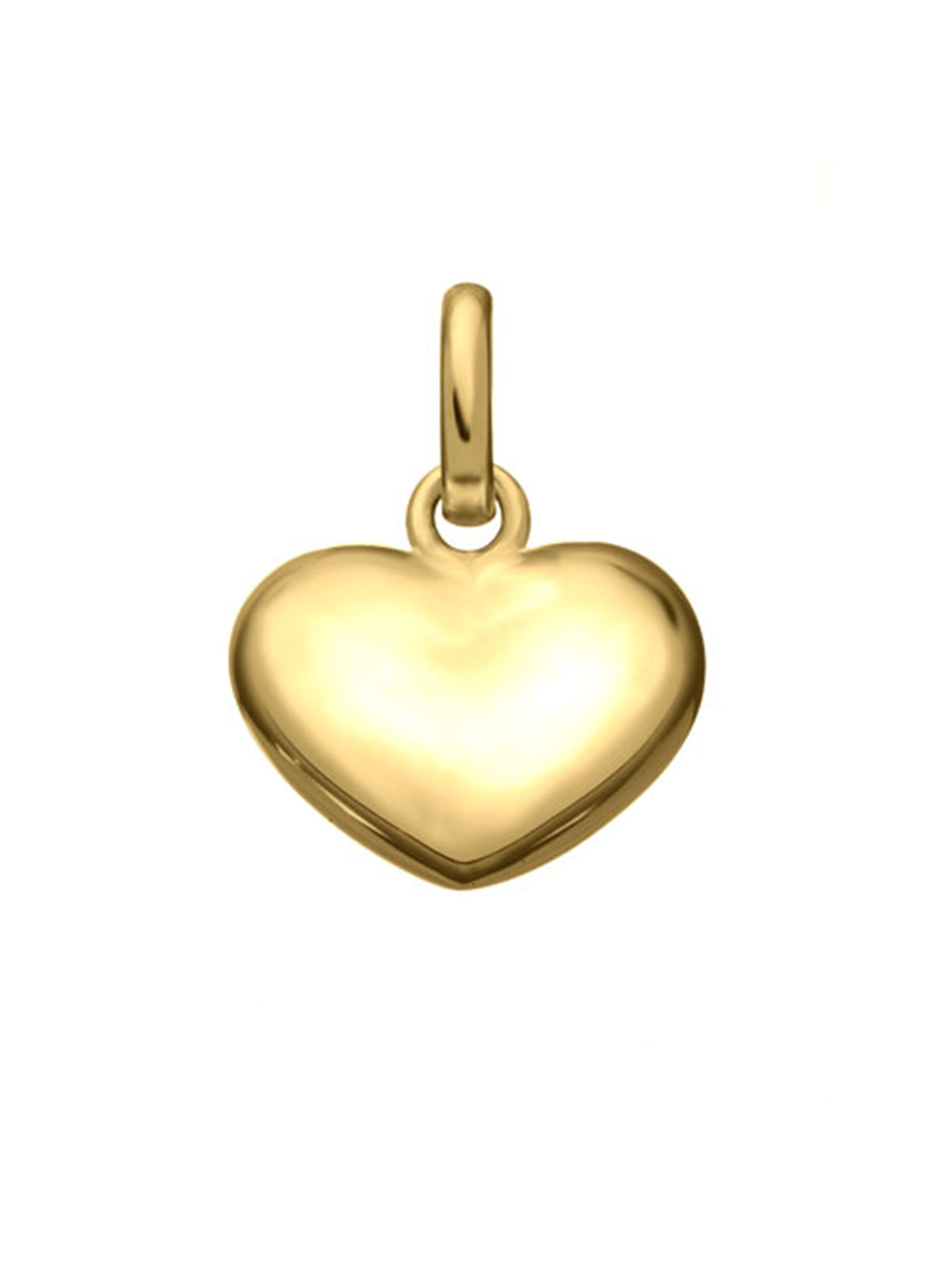 Heart 18ct Gold Charm