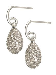 Links of London Hope Egg Earrings White Topaz