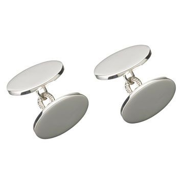 Links of London Classic Oval Chainlink Cufflinks