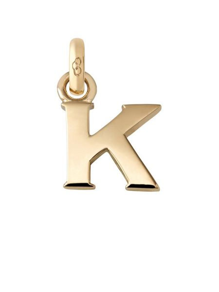 Links of London Alphabet Charm Letter K