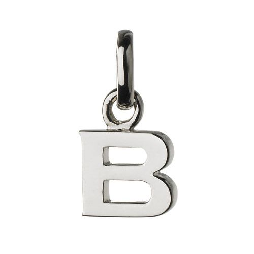 Links of London B Charm, Silver