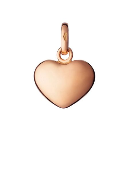 Links of London 18ct rose gold heart charm