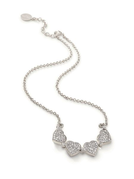 Folli Follie Heart 4 Heart Necklace