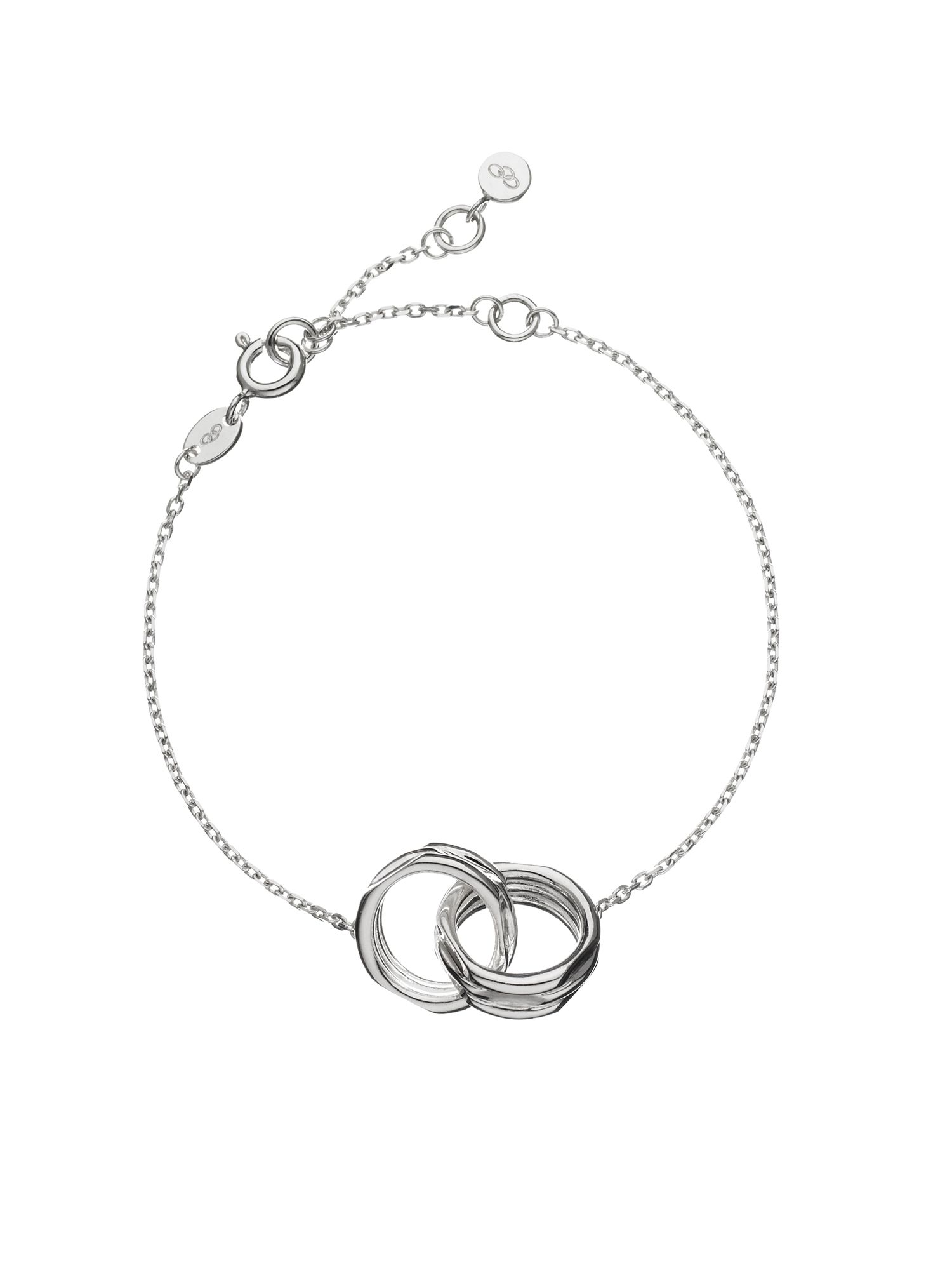 Links of London 20-20 Interlocking Bracelet, Silver