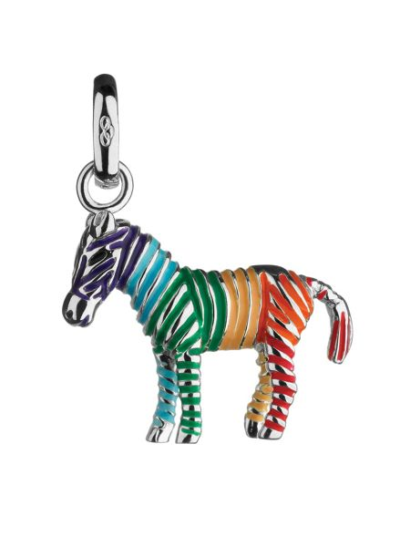 Links of London Rainbow Zebra Charm