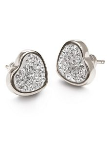 Folli Follie Bling Chic Stud Earrings