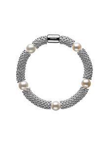 Links of London Effervescence Star White Pearl Bracelet