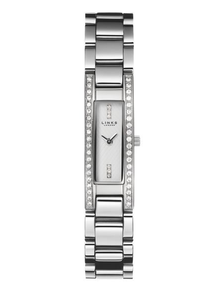 Links of London Selene stainless steel & sapphire watch
