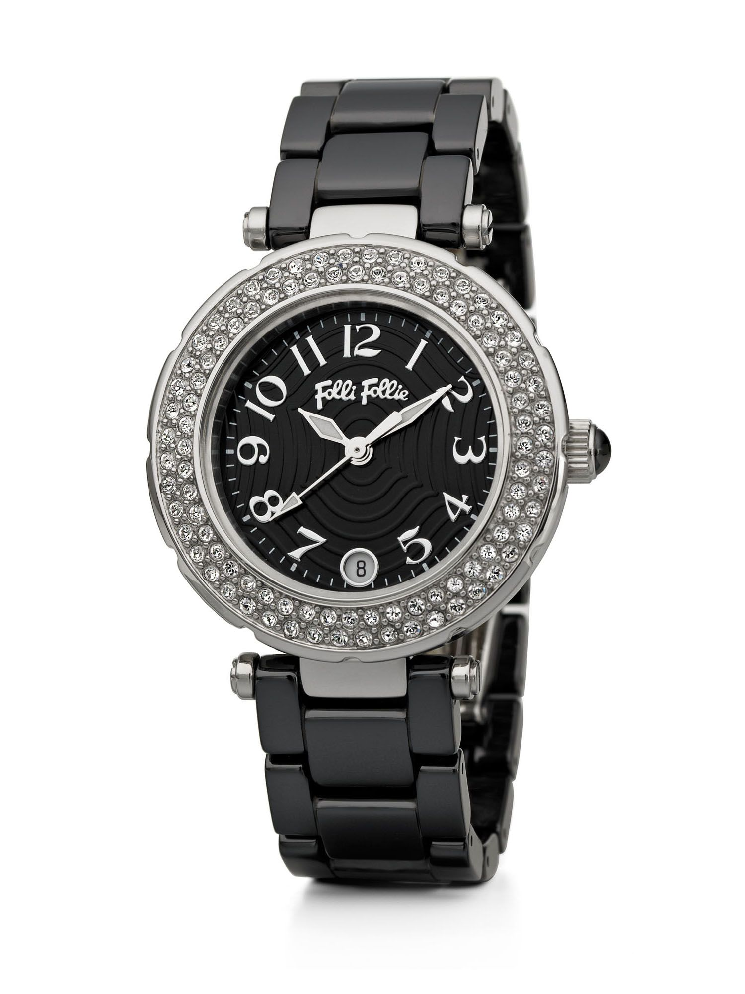 Beautime Watch with Black Strap
