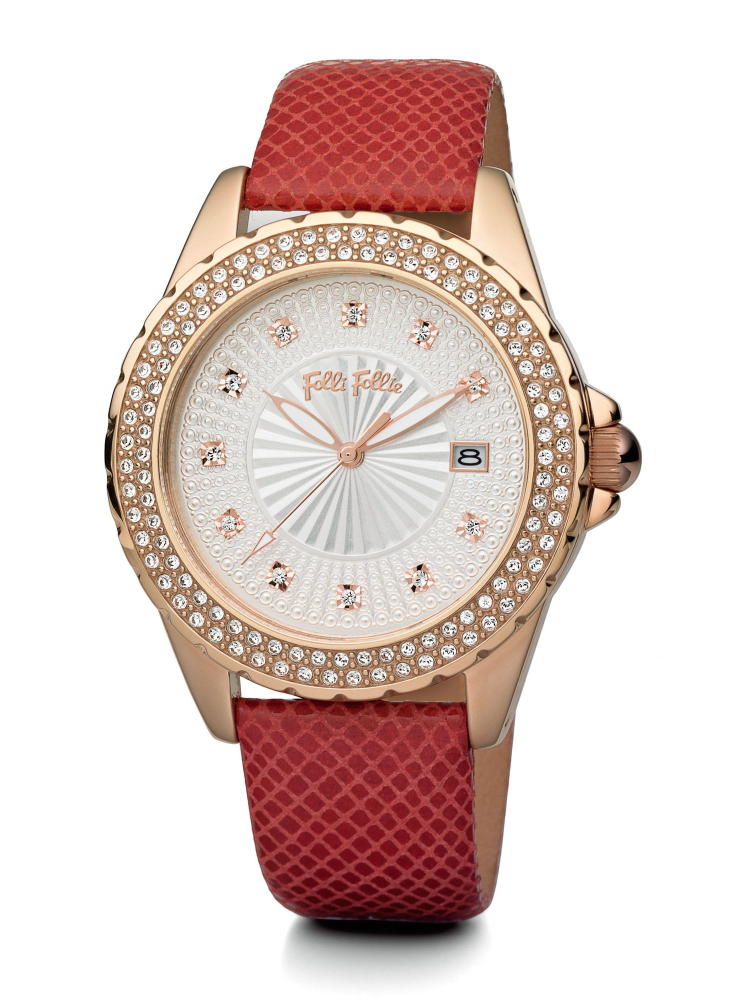 Folli Follie Day Dream watch, Red