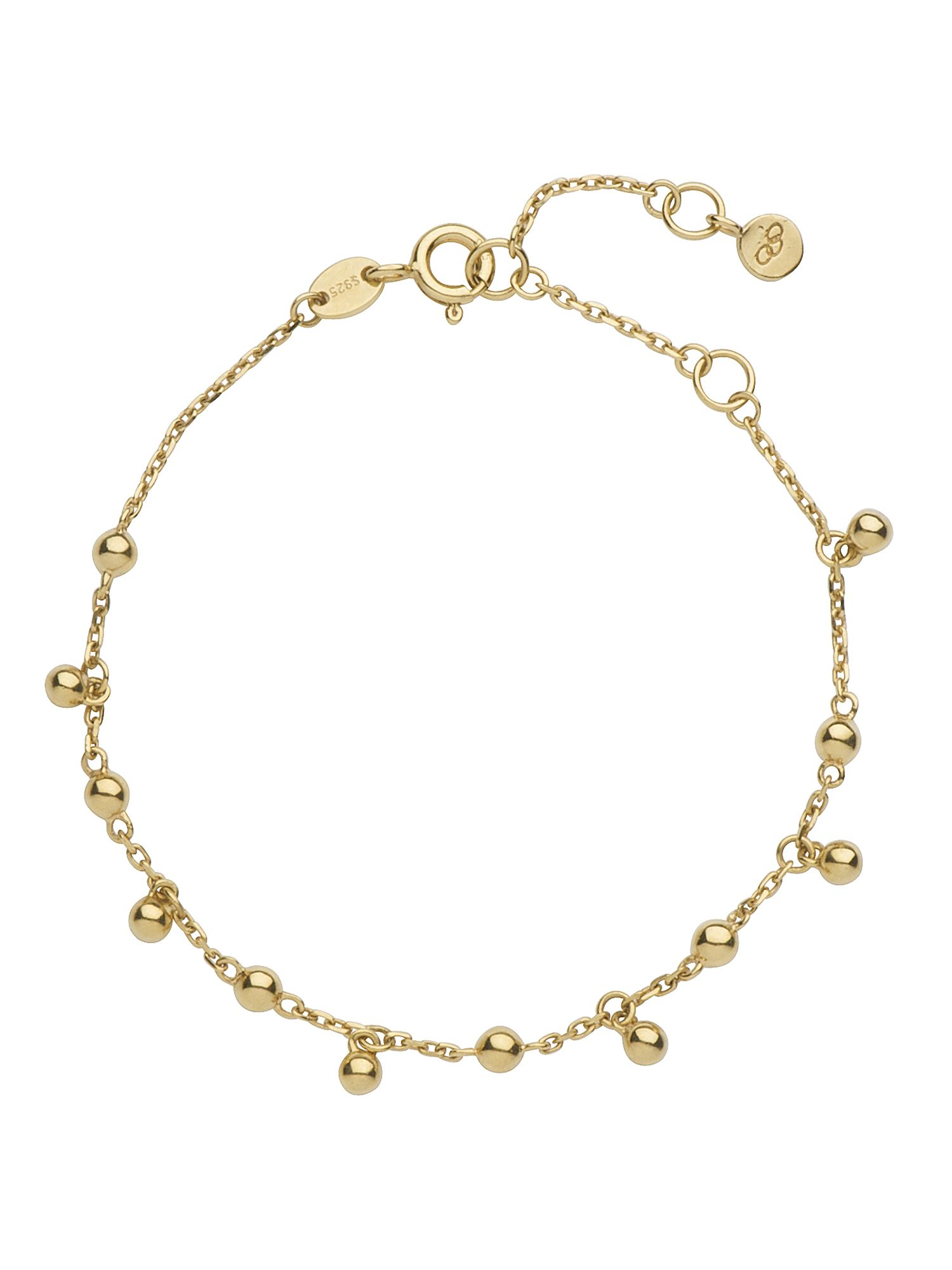 Effervescence bubble 18ct gold bracelet