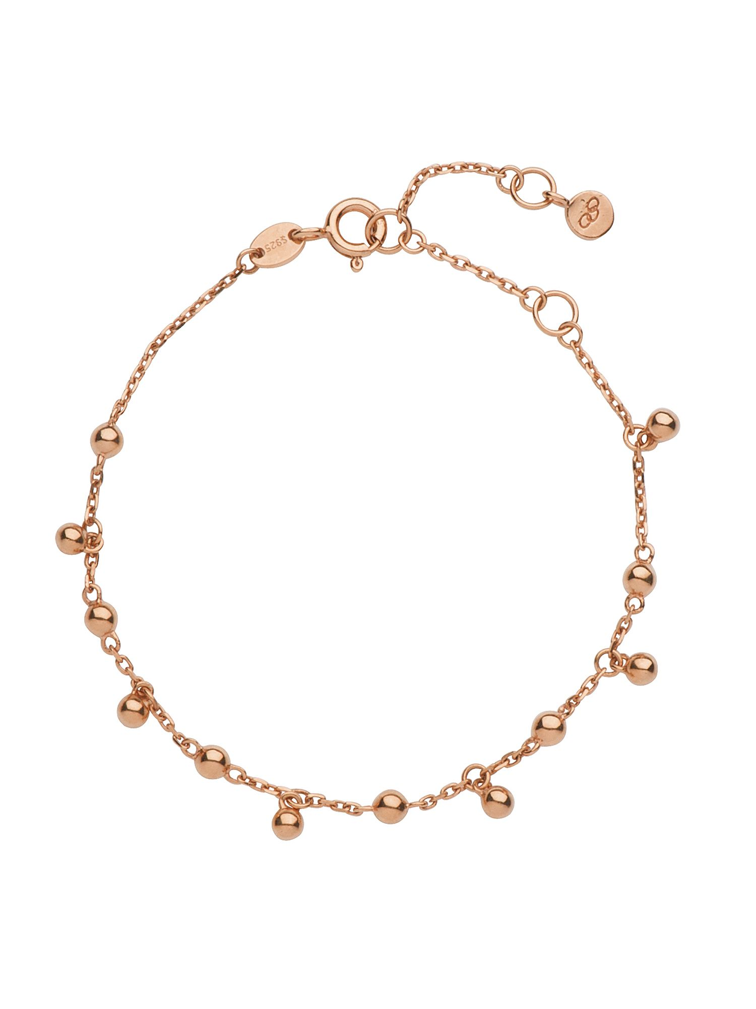 Effervescence bubble 18ct rose gold bracelet