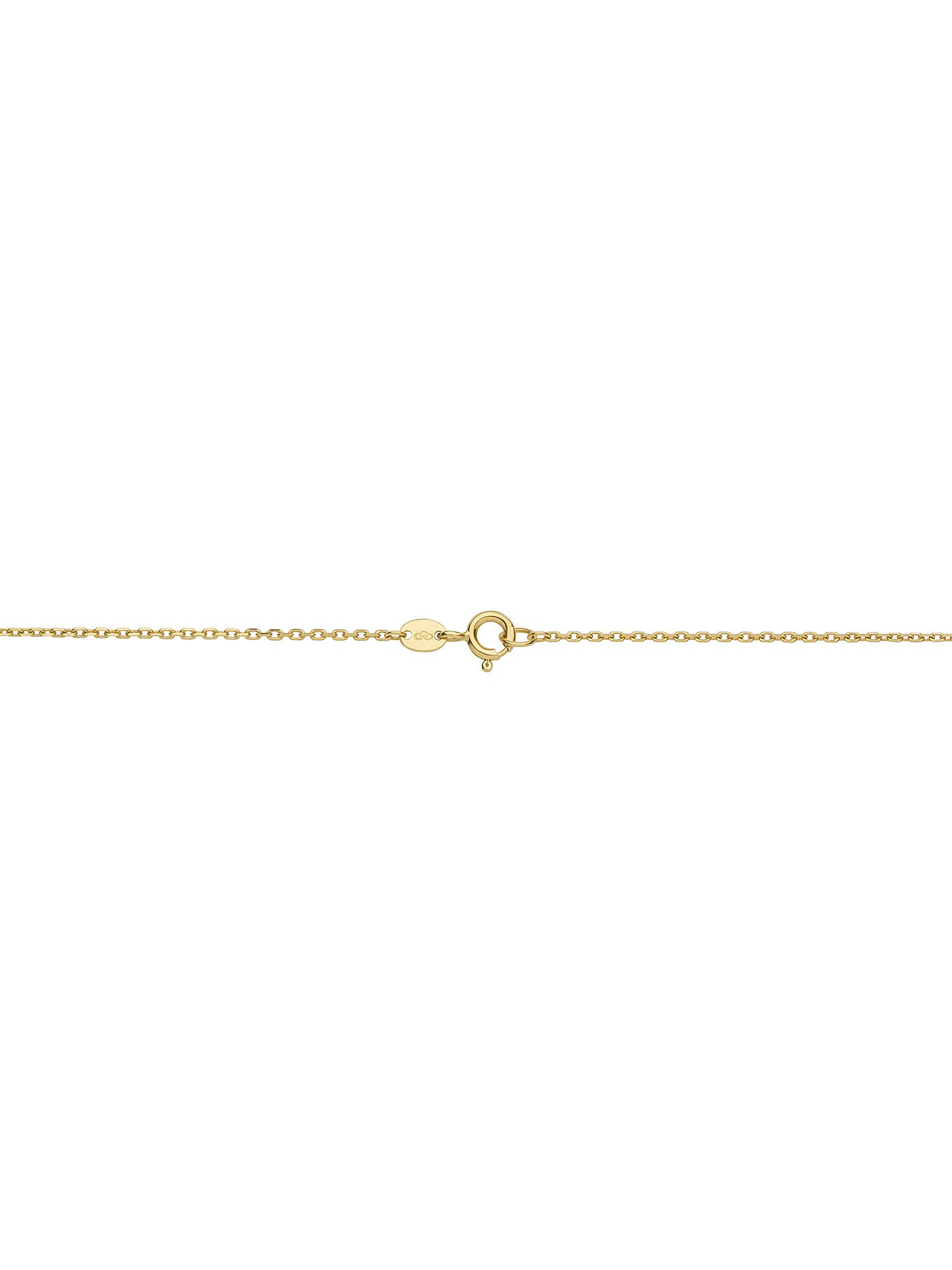 Effervescence bubble tassle 18ct gold necklace