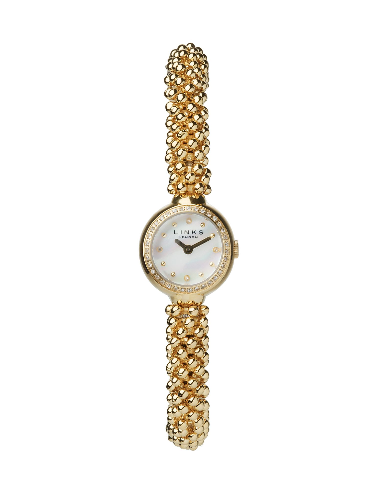 Links of London Effervescence Star Yellow Gold Watch