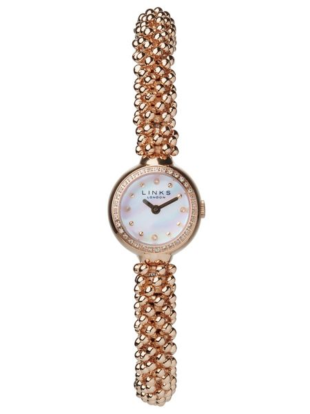 Links of London Effervescence Star Rose Gold Watch