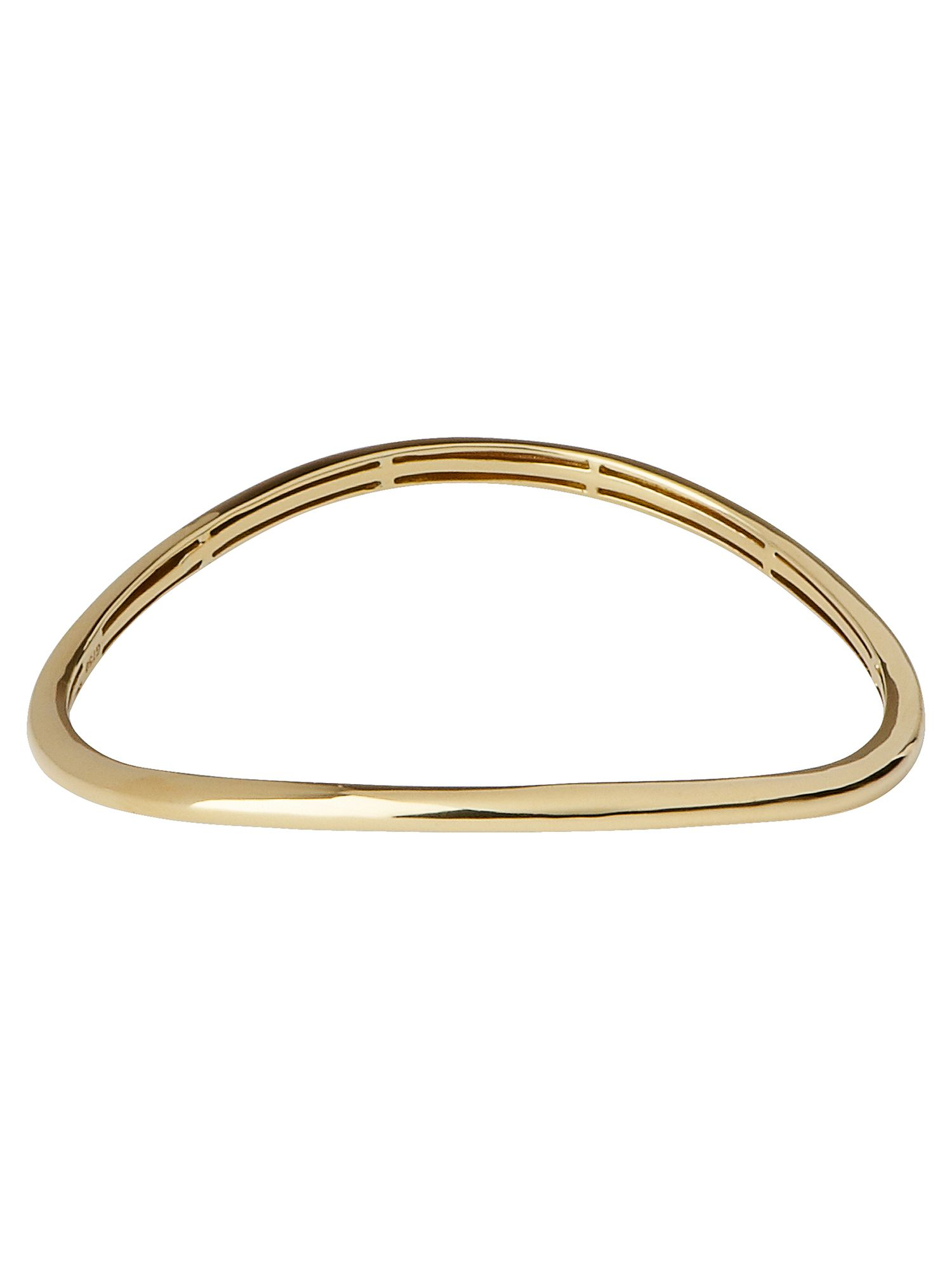 Essentials infinite gold bangle