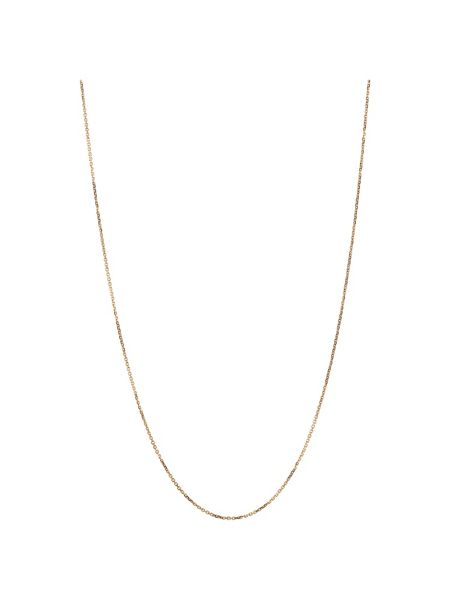 Links of London Rose gold dc cable chain 1mm 45cm