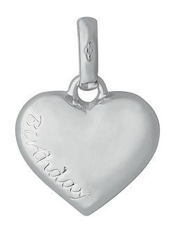 Birthday Heart Charm