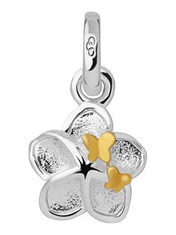 Mini Flower and Butterfly Charm