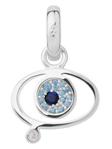 Links of London Evil eye charm  saphire & blue topaz